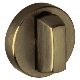 Satin Brass and Black 6760 Turn Piece