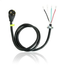 6' 4-Wire 30 amp Dryer Power Cord