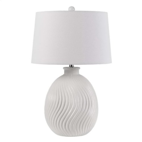 150w 3 Way Olbia Ceramic Table Lamp