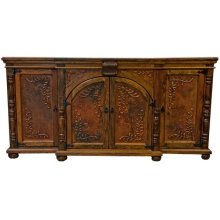 Old Wood Copper Buffet