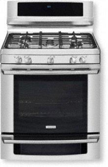 """30"""" Natural Gas Freestanding Range with Wave-Touch® Controls"""
