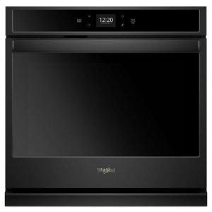 WhirlpoolWhirlpool® 4.3 cu. ft. Smart Single Wall Oven with Touchscreen - Black