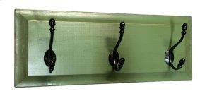 3-hook Panel Coat Hooks