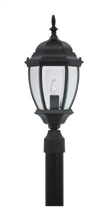"""9"""" Post Lantern in Black"""