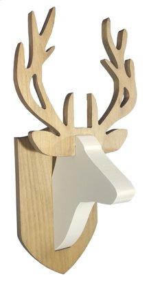 """Deer Head 10"""" x 10"""" x 20""""h"""