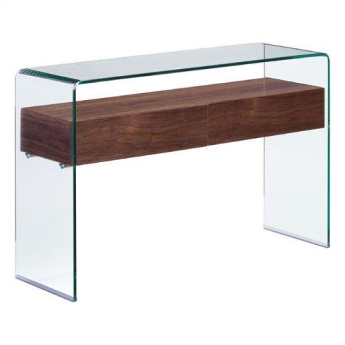 Shaman Console Table Walnut
