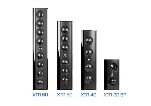 Ultra-slim, ultra-high performance on-wall or on-shelf loudspeaker