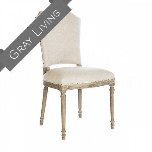 Chelsea Upholstered Burnt Oak Dining Chair