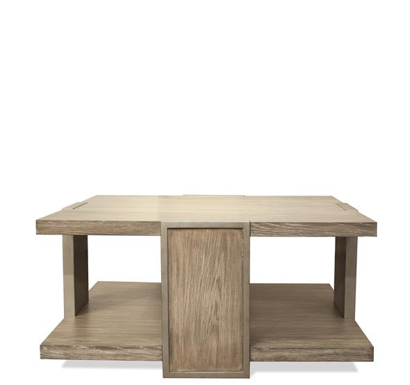 Sophie Square Coffee Table Natural Finish