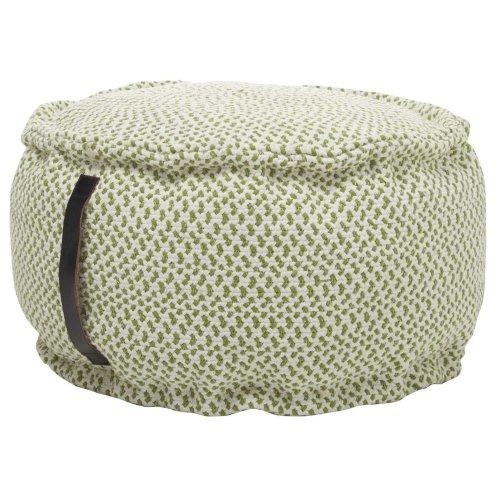 """Outdoor Pillows As220 Green 20"""" X 20"""" X 12"""" Poufs"""