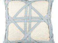 Vintage Mint Weave Pillow Product Image