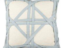 Vintage Mint Weave Pillow