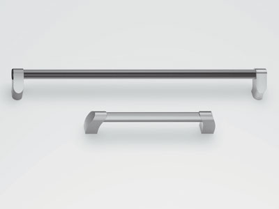 Large Two Tone Door Handle