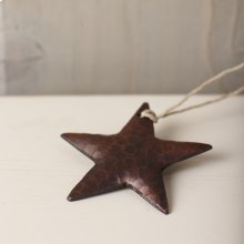 Medium Copper Star Ornament