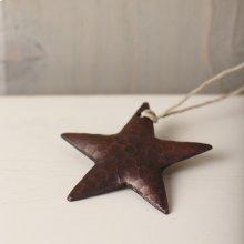 Medium Copper Star Ornament