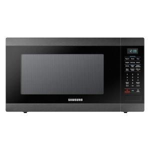 SAMSUNG1.9 cu. ft. Countertop Microwave with Sensor Cooking in Fingerprint Resistant Black Stainless Steel