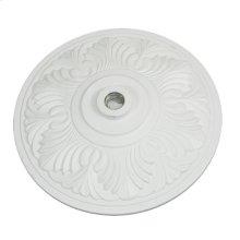 Aluminum Art Deco Umbrellas Base - White