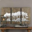 Safari Views Metal Wall Decor, S/3 Product Image