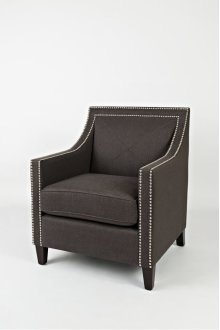 Luca Club Chair- Easy Living Charcoal