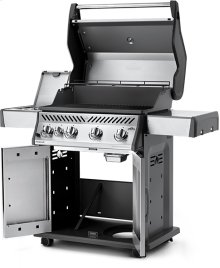 Rogue ® 525 SB Stainless Steel with Range Side Burner