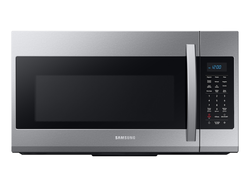 Samsung1.9 Cu Ft Over The Range Microwave With Sensor Cooking In Stainless Steel