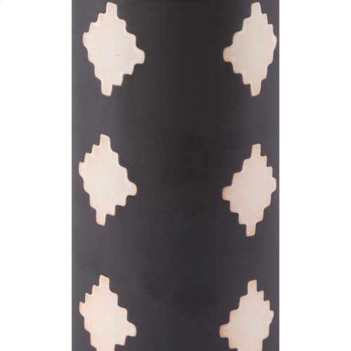 Pampa Bottle Sm Black & Beige