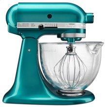 Artisan® Design Series 5 Quart Tilt-Head Stand Mixer with Glass Bowl - Sea Glass
