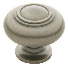 Antique Nickel Ring Deco Knob