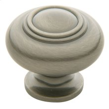Antique Nickel Ring Deco Knob