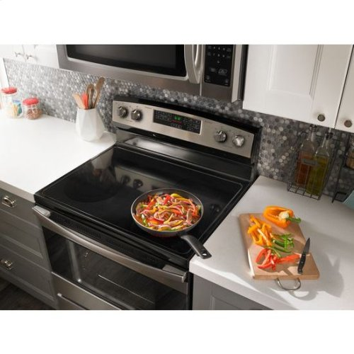 1.6 Cu. Ft. Over-the-Range Microwave with Add 0:30 Seconds - white