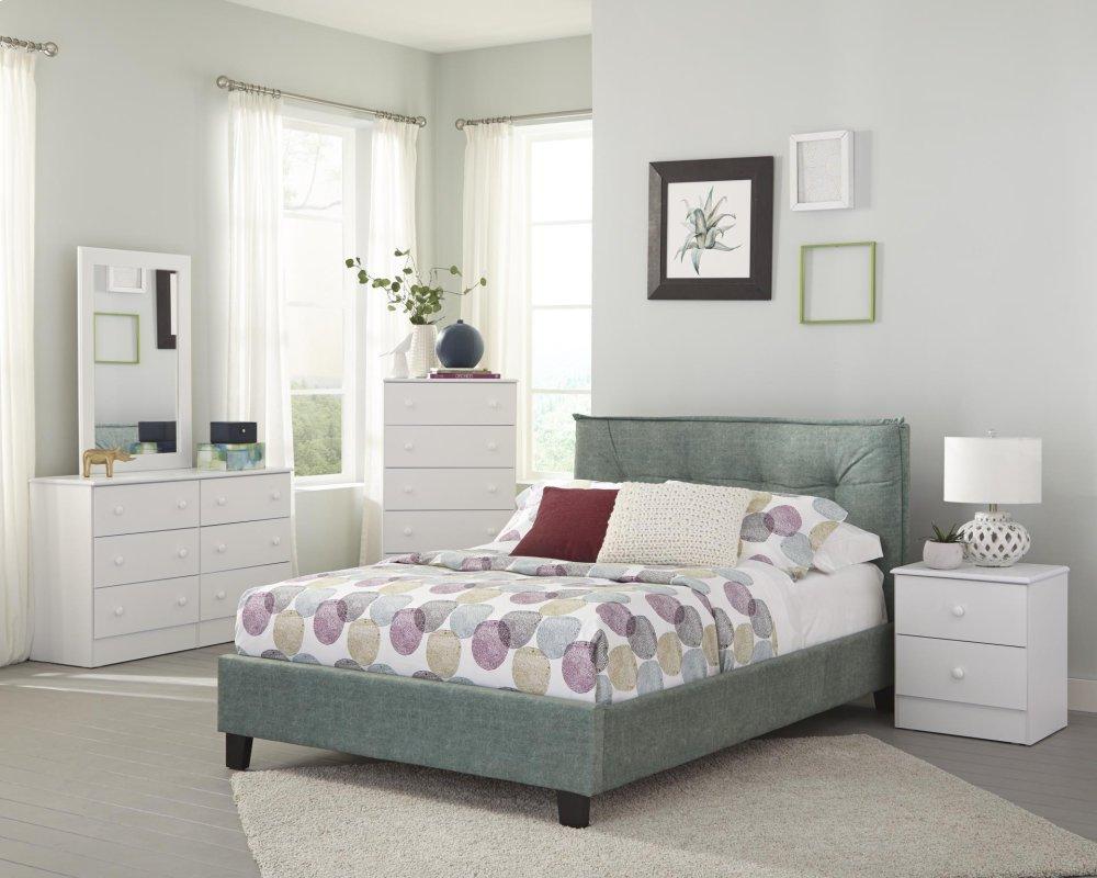 Kith Furniture White 5 Drawer Chest