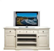 Juniper TV Console Chalk/Natural finish