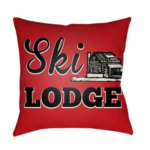 "Lodge Cabin LGCB-2041 18"" x 18"""