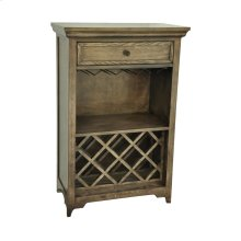 Wyndham 1 Drawer Tall Wine Cabinet