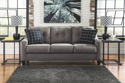 5-PC Living Room Group: Sofa, Loveseat, & 3 Tables