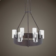 Pinecroft, 6 Lt Chandelier