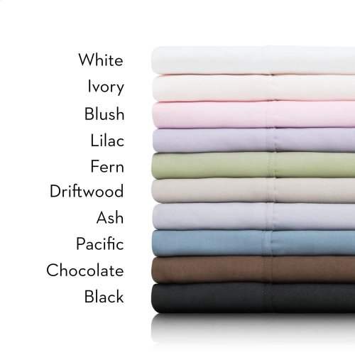 Brushed Microfiber - Split Queen Ivory
