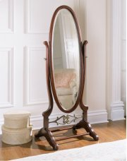"""""""Heirloom Cherry"""" Cheval Mirror Product Image"""