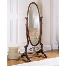 """Heirloom Cherry"" Cheval Mirror"