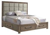 1054 Urban Swag Queen Storage Bed