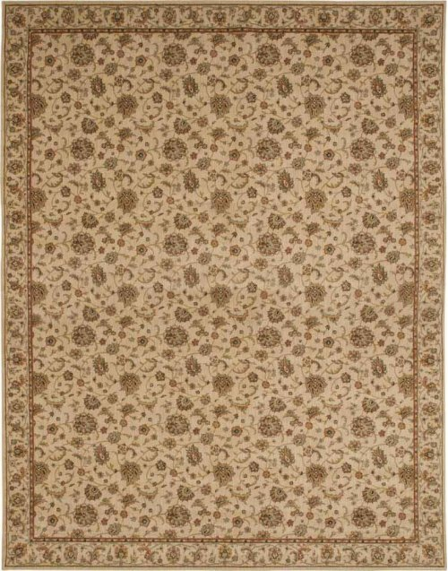 Hard To Find Sizes Sultana Su01 Ivory Rectangle Rug 10'6'' X 13'6''