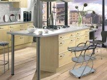The Siena Chrome / White Glass Bar Cart
