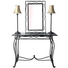 4-pc Table Mirror Lamp Set