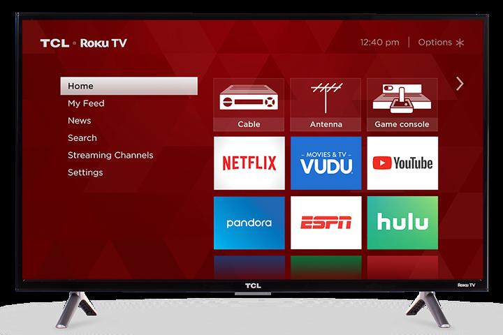 "TCL 32"" Class 3-Series HD LED Roku Smart TV - 32S305"