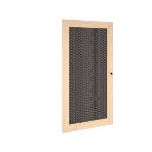 Salamander DesignsSynergy S40 Door, Maple with Perforated Steel Insert