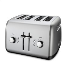 KitchenAid® 4-Slice Toaster with Manual High-Lift Lever - Contour Silver