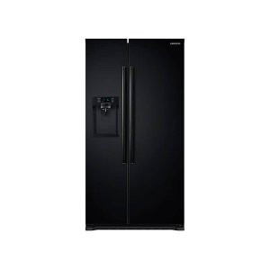 22 cu. ft. Counter Depth Side-By-Side Refrigerator - BLACK