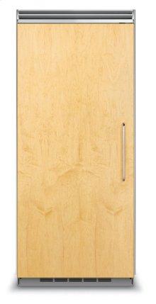 "36"" Custom Panel All Refrigerator, Left Hinge/Right Handle"