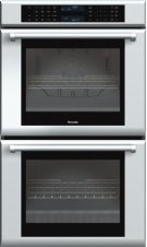 30 inch Masterpiece® Series Double Oven with professional handle MED302JP Product Image
