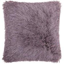"""Shag Tl004 Lavender 20"""" X 20"""" Throw Pillows"""